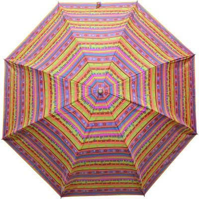 Fendo 2 Fold Auto Open Multi color 400125_B Umbrella