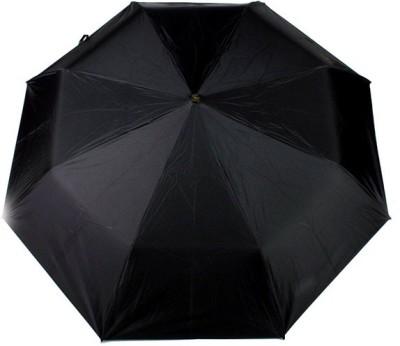 Fendo Auto Open Black Nylon 2 Fold Silver Print Handle Apple_f Umbrella