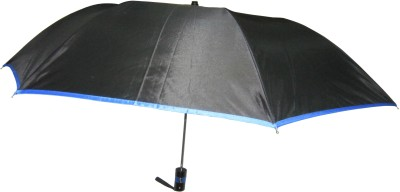 Fendo Avon passion_F 2 Fold black color Umbrella(Black Color)