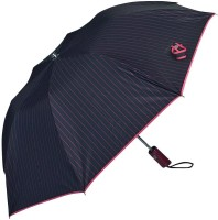 Elephant Brand 2 Fold Reva Automatic Umbrella(Black, Pink)