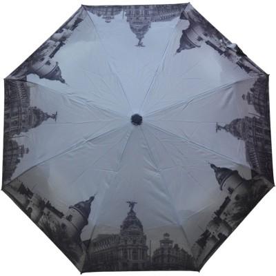 Murano 3 Fold Auto Open Grey Color 400107_B PrInted design Umbrella