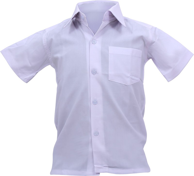MG Brothers White Uniform Shirt(Hyderabad)
