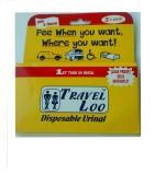 TRAVEL LOO Urine Pot (600 ml White)