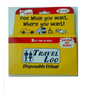 TRAVEL LOO Urine Pot(600 ml White)