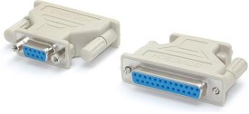 Tech Gear Db9 To Db25 Serial USB Adapter