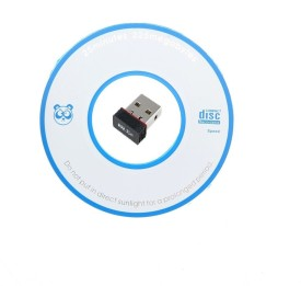 Ad Net 300Mbps Wireless WiFi 802.11n/g/b LAN Internet Network USB Adapter(Black)