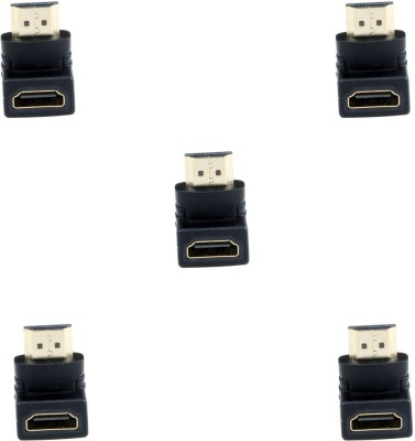 Storite 5 Pack 90degree HDMI Adapter USB Adapter