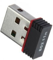 Tera byte Mini Portable USB 2.0 450 Mbps Wireless USB Adapter(Black)