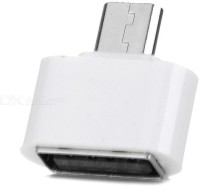 BB4 MICRO USB TO USB CONVERTER CABLE USB Adapter(White)