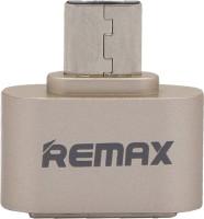 Remax RMOTG101_GOLD USB Adapter(Gold)