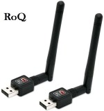 ROQ Sets Of 2 Mini Wifi Usb Adapter With...