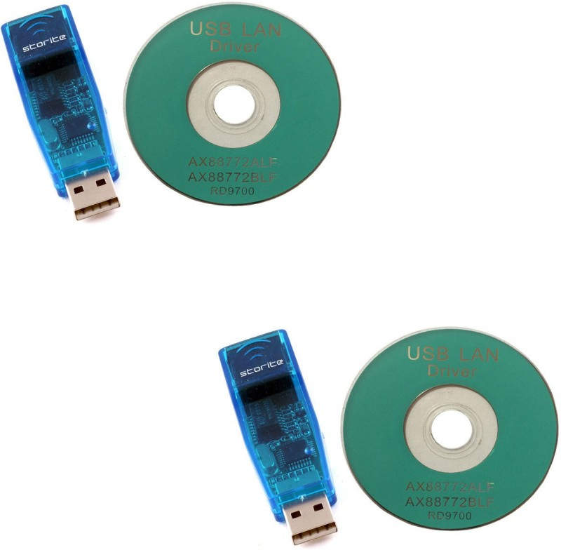 Storite 2 Pack LAN Adapter USB Adapter