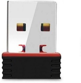 Tech Gear High Speed 300 Mbps nano Wifi 2.4Ghz USB Adapter(Black)