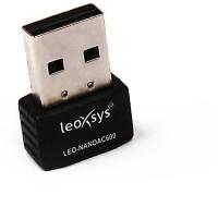 Leoxsys Wireless 11 AC 600Mbps WiFi USB Adapter(Black)