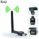 ROQ 600 mbps Mini Wifi Usb Adapter With ...