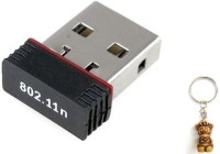 Terabyte Usb 2.0 Wireless Wifi USB Adapter(Black)