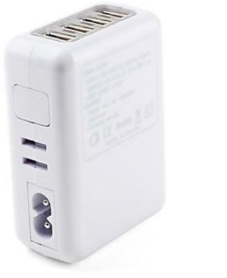 Shrih SH - 0558 4 Port Travel Charger USB Adapter(White)