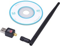 Tera byte 600Mbps WiFi Dongle Wireless 802.11n/g/b with Antenna USB Adapter(Black)