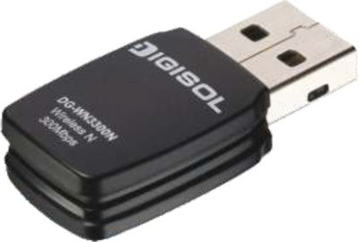 Digisol DG-WN3300N USB Adapter(Black)