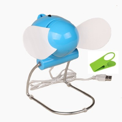 Portable Flexible Electronic Laptop Cooling Fan With Clipholder UABF77 USB Fan