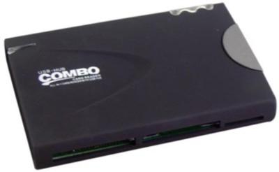 Maxpro VCR - 431 3 Combo Card Reader USB Hub