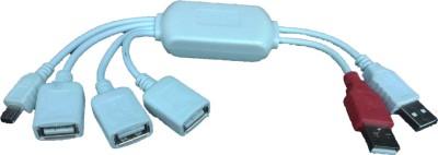 iConnect World Smart 3 Ports + 5 Pin Mini 2.0 USB Hub