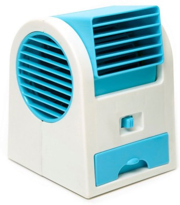 Shadow Fax Table Air Fan Cooler USB Fan Blue  available at Flipkart for Rs.419