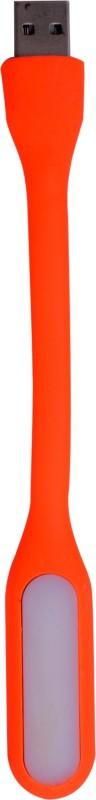 Sunnex Flexible Lamp For Computer Notebook Laptop Pc, Energy Saving S 1 UG Led Light(Orange)