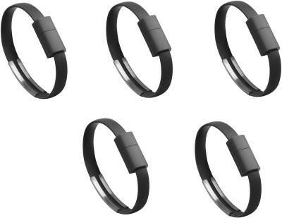Saihan 5 pks of Bracelet SHN 5 pk WB USB Charger