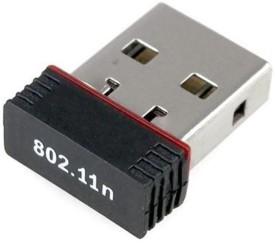 Terabyte 300Mbps Mini Wireless WiFi 802.11n/g/b LAN Internet Network USB Adapter(Black)