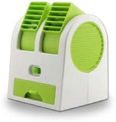 Sat Easy chargeble Dual bladeless mini cooler USB Fan