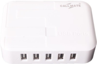 Callmate 5-Port 5.2A Charger with for iPad,Tablets, Smartphones and other charged devices USB5 Laptop Accessory