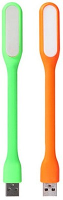 SBBT Green and Orange USB LED Light Flexible Portable For Keyboard Laptop Pc Notebook and Power Bank LED_GRN_ORG Led Light