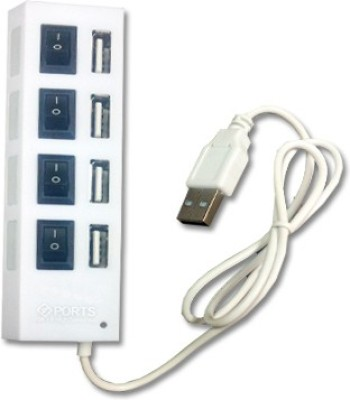 Super-IT 4 Port with Power Switches USB Hub