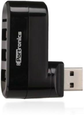 Portronics 3 Port and Card Reader POR 461 USB Hub