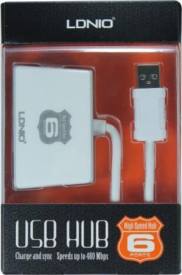 LDNIO High Speed HS-02 6 Port USB Hub