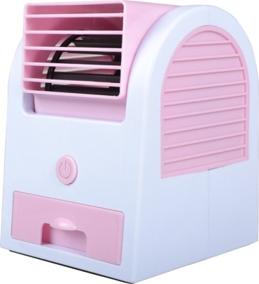 Finger's Mini Fragrance Air conditioner Pink Cooling New USB Fan
