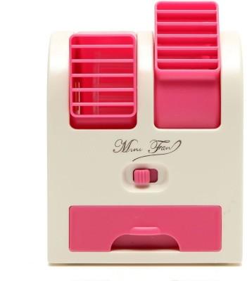 RoQ Mini Fragrance Air Conditioner USB Fan