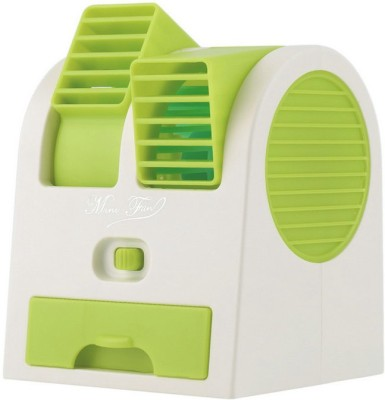 BB4 Mini Fragrance Air conditioner Cooling water cooled HB-168 USB Fan(Green)