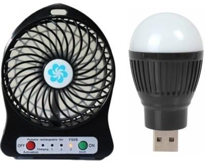 Lens Big Vintage LUBFB-001 USB Fan, Led Light