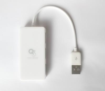 Q3 4P 4 Port 2.0 Ultra Slim USB Hub