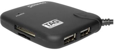 TAG Hi-Speed Combo Card Reader, USB Hub