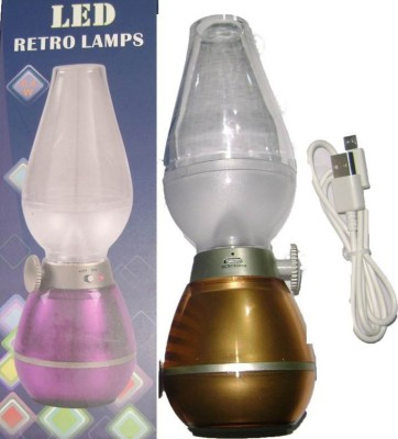 Srihpe Kerosene Led Lamp Retro Blow On And Off Chimney Led Light Led Light
