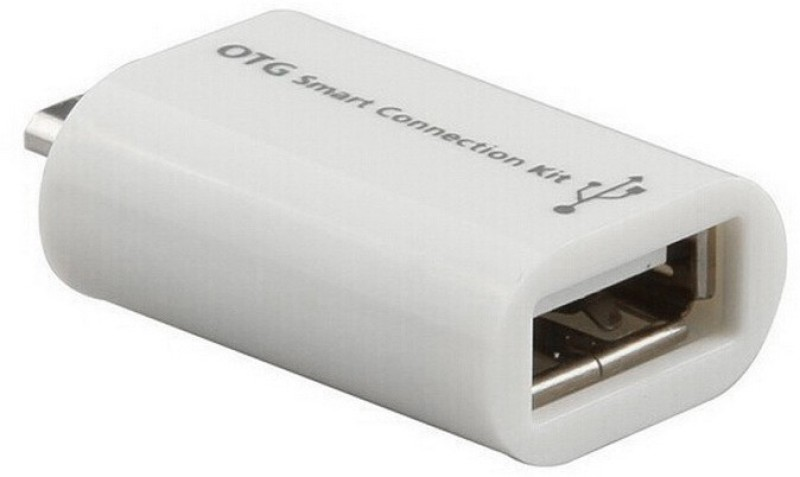 V Square otg Card Reader(White)