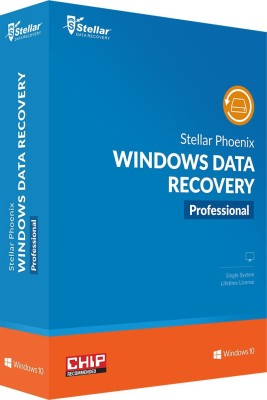Stellar Phoenix Windows Data Recovery Professional(Lifetime, 1 PC) at flipkart