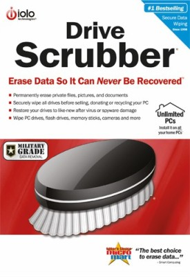 IOLO Drive Scrubber(1year, 1 PC)