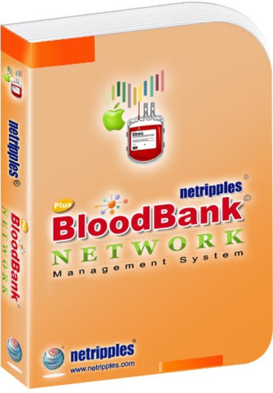 Netripples Blood Bank Network Plus(1, 1 PC)