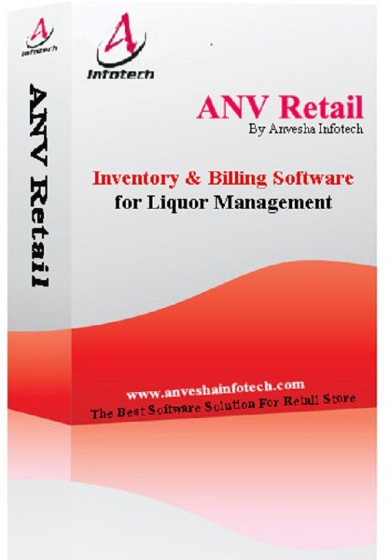 ANV Retail Liquor Management Software(Life Time, 1 PC)