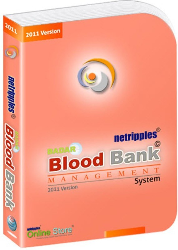 Netripples Badar Blood Bank Management System(Web)(1, 1 PC)