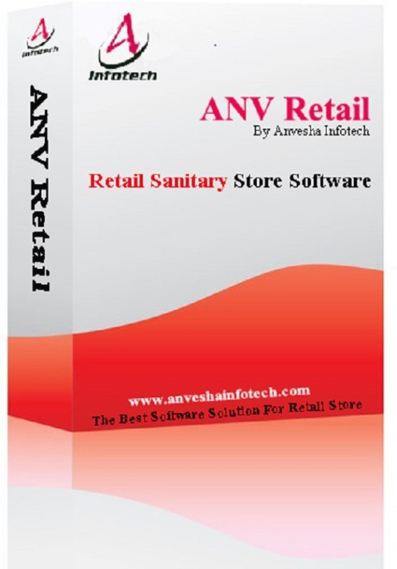 ANV Retail Sanitary Store Software(Life time, 1 PC)